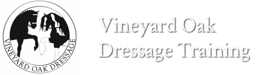 Vineyard Oak Dressage Training